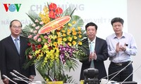 VOV- Vietnam's first national communications agency with 4 forms of media