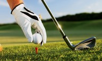 Golf tournament for humanitarian and Asian investment 2015