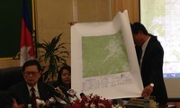 Cambodian's map used in border demarcation with Vietnam consistent with UN map