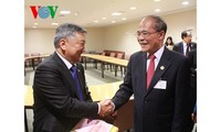 NA Chairman meets Parliament Speakers of Mongolia, Mozambique