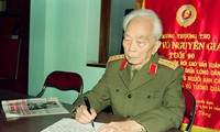 General Vo Nguyen Giap in the lenses of Tran Hong