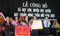 New rural development in Duy Son commune, Quang Nam province