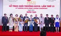 13th KOVA awards presented