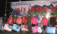 VOV5's spring charity program in Can Nong border commune