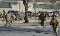 Afghanistan: dozens killed in suicide bomb targeting police headquarters