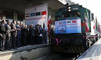 China, Iran resurrect Silk Road route