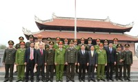 Minister of Public Security General Tran Dai Quang visits Nghe An province