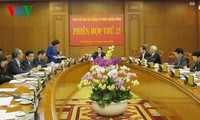 The President chairs the 25th session of the Central Steering Committee on Judicial Reform