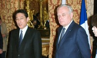 Japan, France oppose unilateral activities in East China Sea and the East Sea