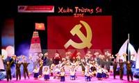 """Spring on Truong Sa archipelago"" art performance"