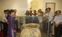 Vietnamese antiques displayed in Hue