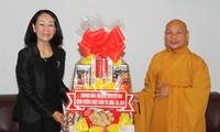 Mass Mobilization Chief greets Buddhist followers on Buddha's birthday