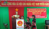 Vietnamese vote at National Assembly and People's Council election