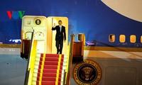US President Barack Obama begins official visit to Vietnam