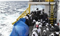 Nearly 10,000 migrants rescued in the Mediterranean sea