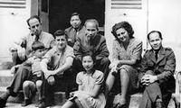 Elisabeth Helfer Aubrac, a goddaughter of President Ho Chi Minh in France