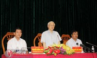 Party General Secretary Nguyen Phu Trong pays working visit to Ba Ria Vung Tau