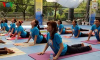 Da Nang, HCM City celebrate International Yoga Day