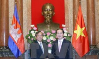 President receives foreign minister of Cambodia, ambassadors of Argentina, Myanmar