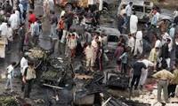 Iraq: Deaths in car bomb market attack near Baghdad