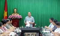 阮春福:南定省要全力以赴恢复灾后生产