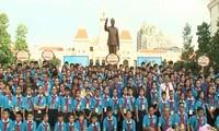 Vietnam, Laos, Cambodia children meet for cultural exchange