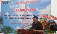 Voice of Vietnam launches FM transmission station in Phu Quoc