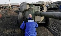 OSCE: Heavy weapon appears near frontline in East Ukraine