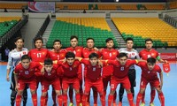 Vietnam's Futsal squad wins 1st match at FIFA World Cup 2016