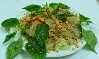Thai Binh's special cuisine