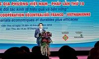 Cooperation conference between Vietnamese French localities closed