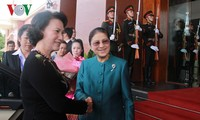 NA Chairwoman Nguyen Thi Kim Ngan holds talks with Lao counterpart