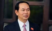 President Tran Dai Quang sends message to AIPA 37
