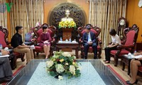 VOV Vice President receives Argentinean, Cuban diplomats