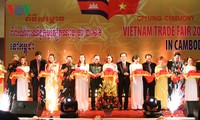 Vietnamese Trade Fair 2016 opens in Cambodia