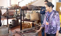 Visiting Dong Que museum, Nam Dinh province