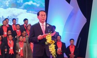 President Tran Dai Quang attends ceremony honoring Vietnamese farmers