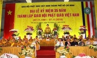 35th founding anniversary of Vietnam Buddhist Sangha marked in HCM City