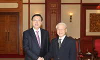 Party chief welcomes Chinese legislative leader