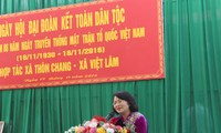 Vice President Dang Thi Ngoc Thinh joins national unity festival in Ha Giang