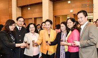 NA Chairwoman congratulates National Assembly Office a happy Tet