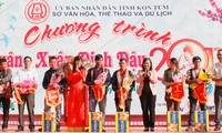 Spring festival 2017 opens in Kon Tum province