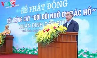 Tree planting festival launched in Vinh Phuc