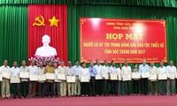 Prestigious ethnic people, religious dignitaries honored