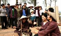 Hai Phong celebrates death anniversary of Xam singing founder
