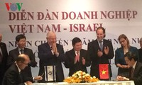 Israeli President Reuven Rivlin visits Ho Chi Minh City