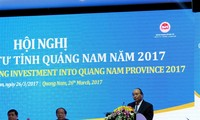 The Prime Minister attends Quang Nam province investment promotion conference