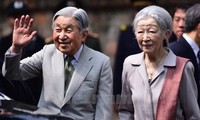 Japanese Emperor, Empress host tea party following Vietnam visit