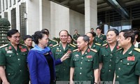 NA Chairwoman Nguyen Thi Kim Ngan: National Assembly to finetune policies for beneficiaries