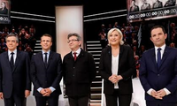 French voters begin casting ballots in presidential election